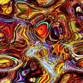 Fondo de arte arco iris abstracto geometrico — Foto de Stock
