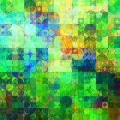 искусство абстрактный радуга геометрический узор фона — Стоковое фото