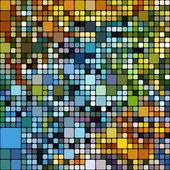Art abstract rainbow geometric pattern background — Stockfoto