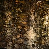 Konst abstrakt brun grunge texturerat bakgrund — Stockfoto