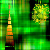 Art colorful christmas background with space for text — Stock Photo