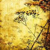 Art sketching landscape background — Stock Photo