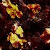 Arte floral colores pastel de fondo — Foto de Stock