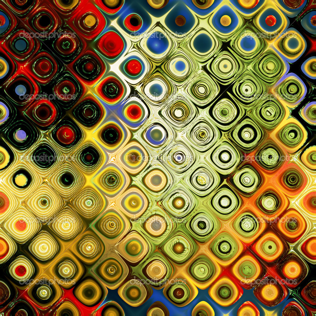 Abstract Rainbow Patterns