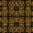 Art nouveau geometric ornamental vintage pattern — Stock fotografie