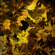 Art leaves autumn background, card — Stock Photo #29598433