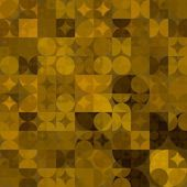 芸術の抽象的な幾何学的な質感の明るい背景 — ストック写真