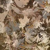 Arte sfondo di foglie d'autunno, carta — Foto Stock