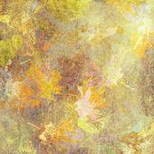 Yapraklar sonbaharda arka plan sanat, kart — Stok fotoğraf
