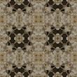 Art nouveau geometric ornamental vintage pattern — Stock Photo