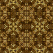 Art nouveau geometric ornamental vintage pattern — Stockfoto