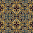 Art nouveau geometric ornamental vintage pattern — 图库照片