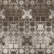 Stock Photo: Art vintage damask seamless pattern background