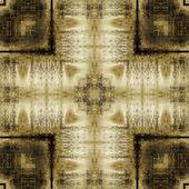 Padrão ornamental geométrico de arte vintage — Foto Stock