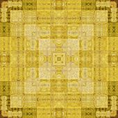 Art vintage geometric ornamental pattern — Stock Photo