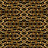 Art vintage glasses geometric ornamental pattern — Stock Photo