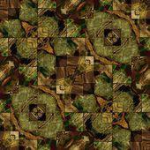 Kunst oost-nationale traditionele patroon — Stockfoto