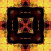 Kunst vintage geometrische versiering patroon — Stockfoto