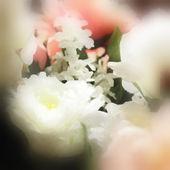 Kwiatowy tło akwarela — Zdjęcie stockowe
