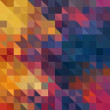 Art abstract rainbow geometric pattern background — Stock Photo