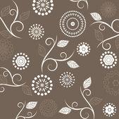 Art seamless ornamental vintage pattern — Stock Vector