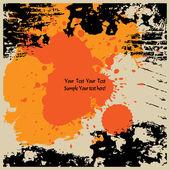 Art grunge background — Stock Vector