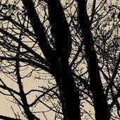 Art tree vector background — Stock Vector