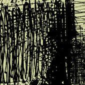 Art contour grunge background — Stock Vector