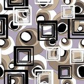 芸術幾何学的なシームレス パターン、背景 — ストックベクタ