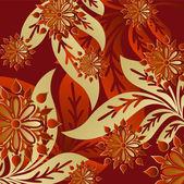 Arte hermosa flor fondo — Vector de stock