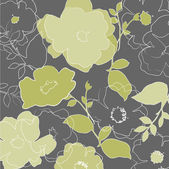 Art vintage floral background in pastels colors — Stock Vector