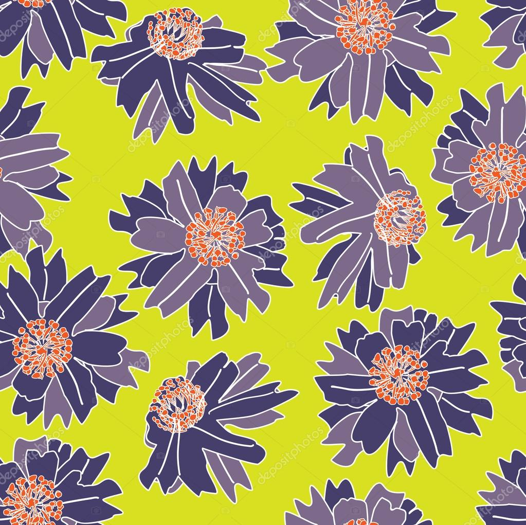art deco floral patterns. Black Bedroom Furniture Sets. Home Design Ideas