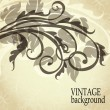 Vector de stock : Art vintage border