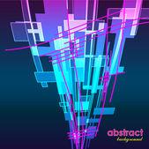 Kunst abstrakte hellen hintergrund vektor — Stockvektor