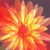искусство красивый цветочный фон — Cтоковый вектор