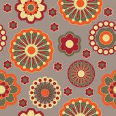 Art seamless vintage ornamental floral pattern — Stock Vector