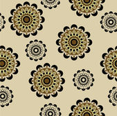 Art seamless ornamental floral vintage pattern — Stock Vector