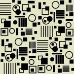 Art vintage geometric pattern — Stock Vector
