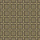 ビンテージのダマスク織パターン背景 — ストックベクタ