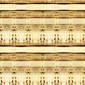Kunst kleurrijke versiering vintage naadloze patroon in beige — Stockfoto