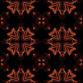 アート ビンテージ燃えるような幾何学的な装飾的なパターン — ストック写真