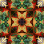 Art nouveau ornamental vintage pattern — Stock Photo #42377411