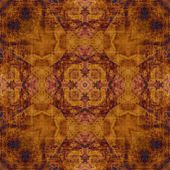 Art ornamental vintage pattern in brown color — Stock Photo