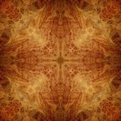 Art ornamental vintage pattern in beige and brown colors — Stock Photo