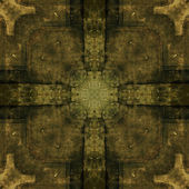 Art geometric ornamental vintage pattern — Stock Photo