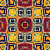 Sztuki geometrycznej ozdobnych vintage wzór — Zdjęcie stockowe