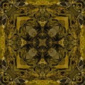 Art nouveau colorful ornamental vintage pattern — Photo