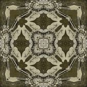 Art nouveau ornamental vintage pattern — Photo