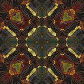 Art nouveau ornamentale modello vintage — Foto Stock