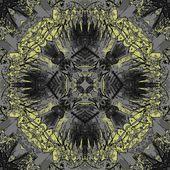 Vintage geometrico ornamentales arte — Foto de Stock